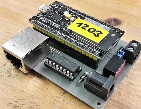 S88 Scanner mit ESP32